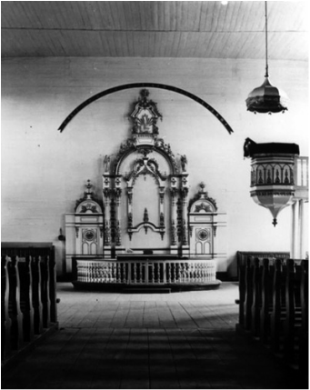 Interior Norka Church 1912