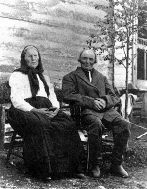 Nicholas Pfenning & second wife Katherina Maria