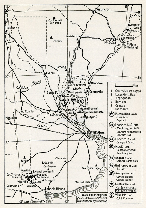 Volga German Settlements in Argentina