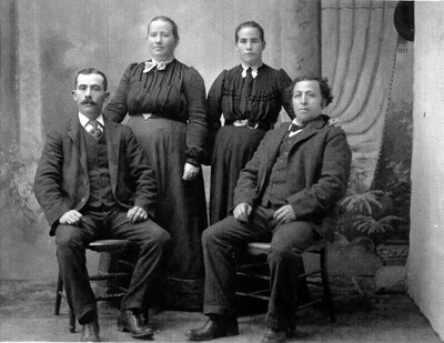 Pfenning Brothers and Wives