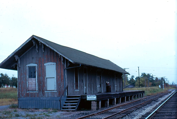 Blufton Ohio Train Station