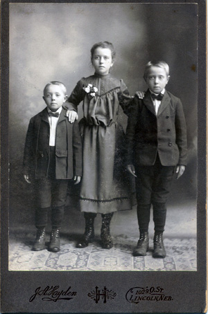 Conrad, Christine and Louis Lehl late 1800s