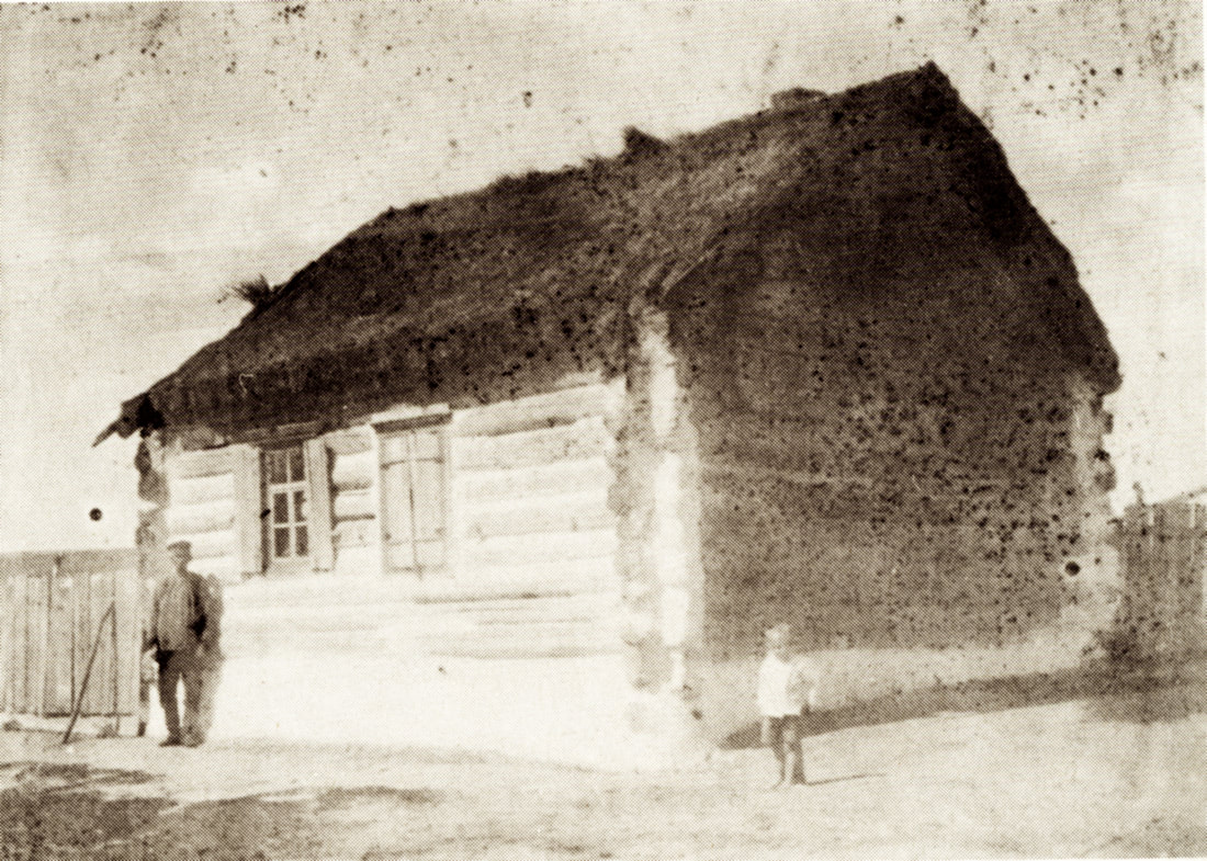 Original colonist house