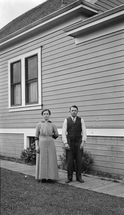 Maria and Henry Krieger at their home on NE 10th in Portland,