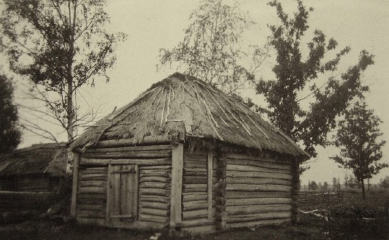 Russian peasant dwelling